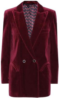 BLAZÉ MILANO Exclusive to mytheresa.com Everyday velvet blazer