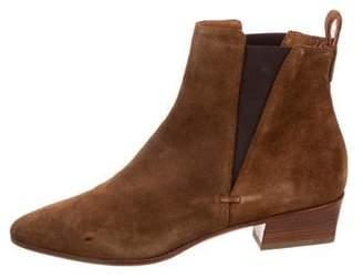 Aquatalia Suede Ankle Boots