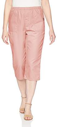Chic Classic Collection Women's Cotton Pull-on Elastic Waist Utility Pocket Bermuda Short