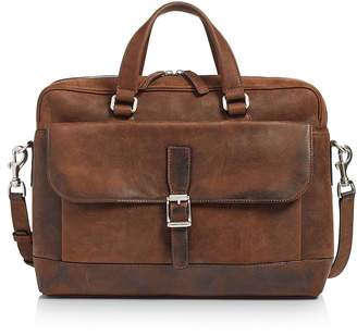Frye Oliver Double-Handle Leather Briefcase