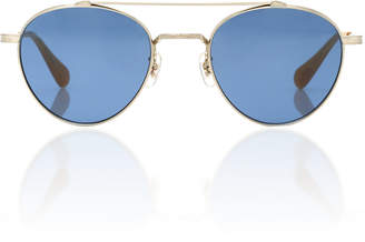 Oliver Peoples Watts Round Aviator Sunglasses