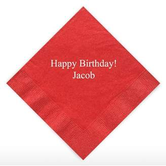 Williams-Sonoma Williams Sonoma Personalized Party Cocktail Napkins, Set of 50