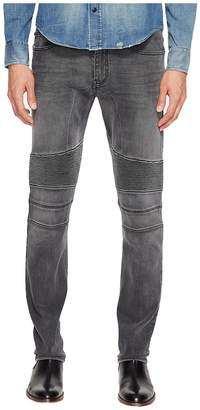Belstaff Eastham Slim Fit Washed Stretch Denim in Charcoal Men's Jeans