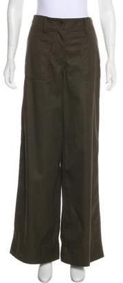 Sacai High-Rise Wide-Leg Pants w/ Tags