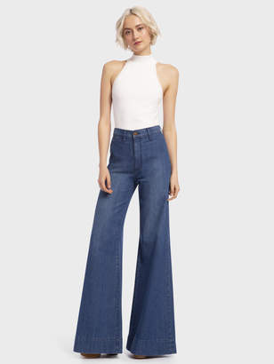 Alice + Olivia GORGEOUS WIDE LEG JEAN