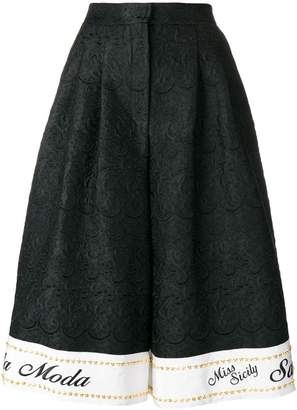 Dolce & Gabbana Miss Sicily shorts
