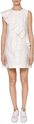Ted Baker Cottoned On Mahlene Ruffle-Trim Dress