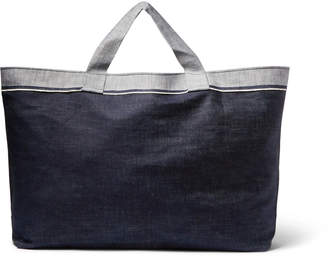 Laundry by Shelli Segal Cleverly Two-Tone Denim Bag