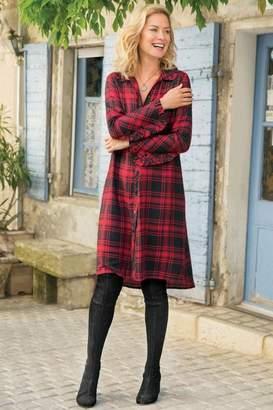 Soft Surroundings Bennington Shirt Dress