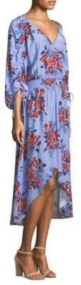 Parker Xiomara Floral High-Low Dress