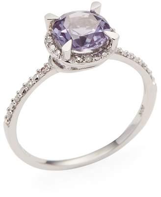 Rina Limor Fine Jewelry Women's Created Alexandrite Halo Ring