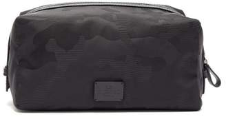 Valentino Camouflage Jacquard Wash Bag - Mens - Black
