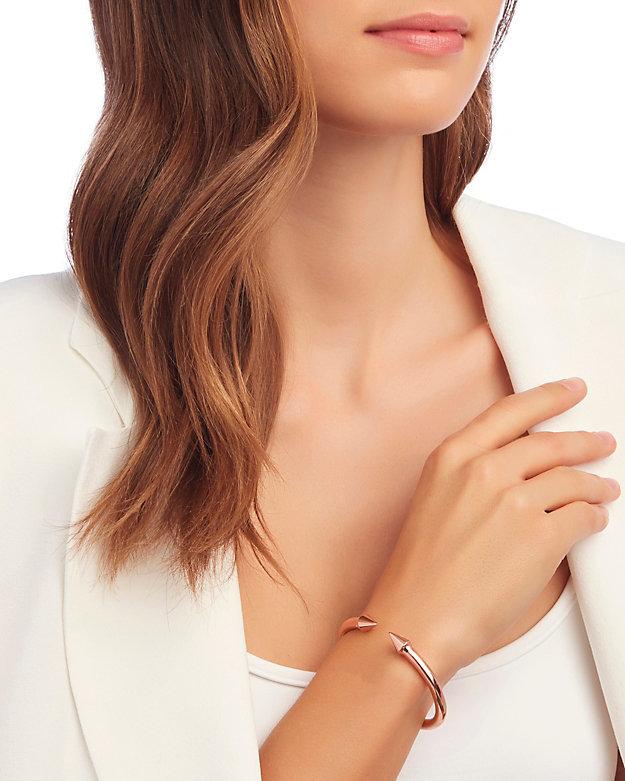 Vita Fede Mini Titan Bracelet: Rose Gold