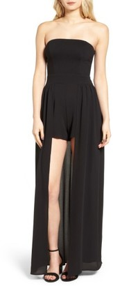 Women's Leith Strapless Romper $75 thestylecure.com