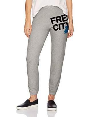 Freecity Women's Cropped Heather Sweatpant
