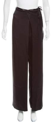Kenzo High-Rise Straight-Leg Pants