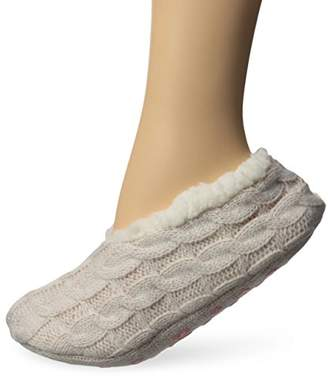 Keds Women's Lurex Cable Sherpa Slipper