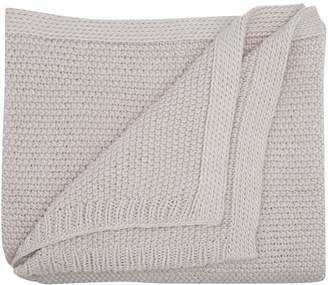 M&Co Textured knit throw