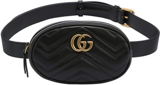 Gucci GG MARMONT 2.0 LEATHER BELT BAG