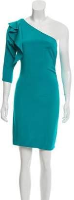 Diane von Furstenberg Asymmetrical Silk Dress