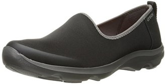 crocs Women's Busy Day Stretch Skimmer Flat $30.27 thestylecure.com