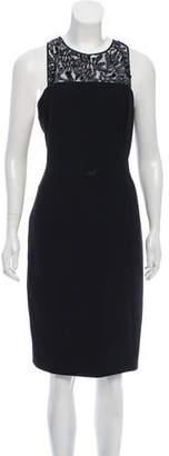 Carmen Marc Valvo Sleeveless Embellished Dress w/ Tags