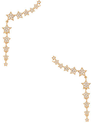 SHASHI Star Disco Climber Set of 2 in Metallic Gold. $96 thestylecure.com