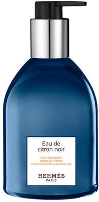 Hermes Eau de Citron Noir Hand & Body Cleansing Gel, 10 oz./ 296 mL