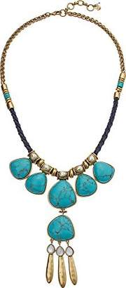 Lucky Brand Women's Turquoise Statement Necklace