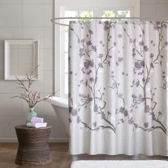 Latitude Run Buchanan Cotton Shower Curtain