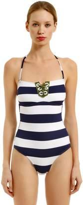 Carmen Striped One Piece Swimsuit
