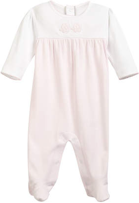 Kissy Kissy Trunk Mates Pima Footie Playsuit, Size Newborn-9M