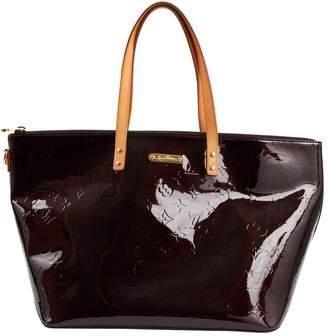Louis Vuitton Bellevue Burgundy Patent leather Handbag