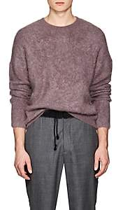 Acne Studios Men's Nosti Fuzzy Mohair-Blend Sweater - Lilac