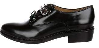 Toga Embellished Leather Oxfords w/ Tags