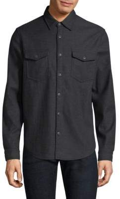 Barbour Collared Cotton Button-Down Overshirt