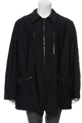 Giorgio Armani Long Sleeve Zip-Up Jacket