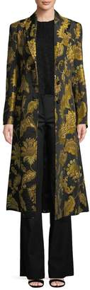 Derek Lam Women's Floral Long Coat