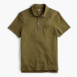 J.Crew Slim Mercantile Broken-in pocket polo shirt