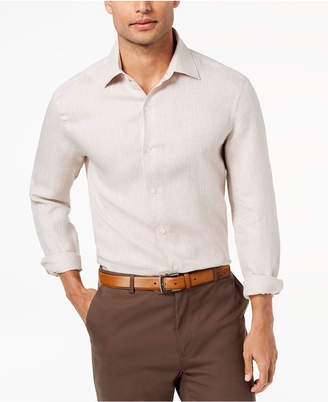 Tasso Elba Men's Long Sleeve Linen Shirt