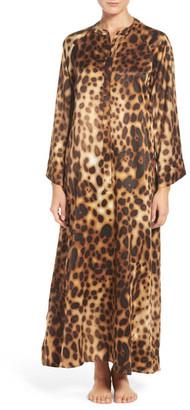 Natori Leopard Caftan $180 thestylecure.com