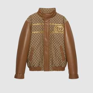 Gucci Dapper Dan GG canvas jacket