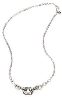 John Hardy Dot Sterling Silver Link Necklace