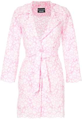 Moschino floral pattern jacket