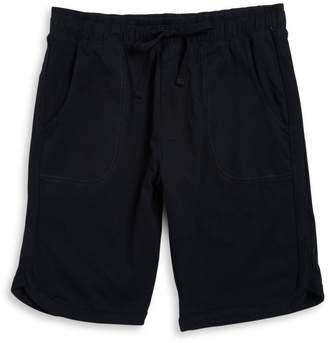 Black Brown 1826 Drawstring Knit Shorts
