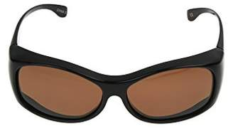 Solar Shield Raquel Polarized Round Sunglasses