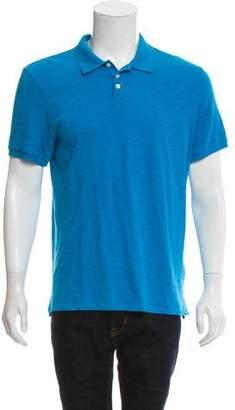 Vince Spread Collar Polo Shirt