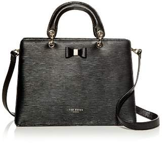 Ted Baker Debiie Small Embossed Leather Convertible Satchel