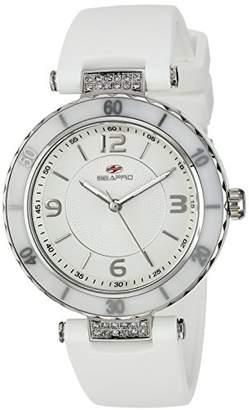 Seapro Women's SP6410 Seductive Analog Display Swiss Quartz White Watch