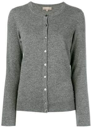 N.Peal round neck knitted cardigan